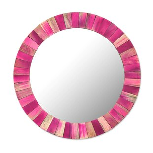 Bloomsbury Market Mccullar Radiance Wood Accent Mirror