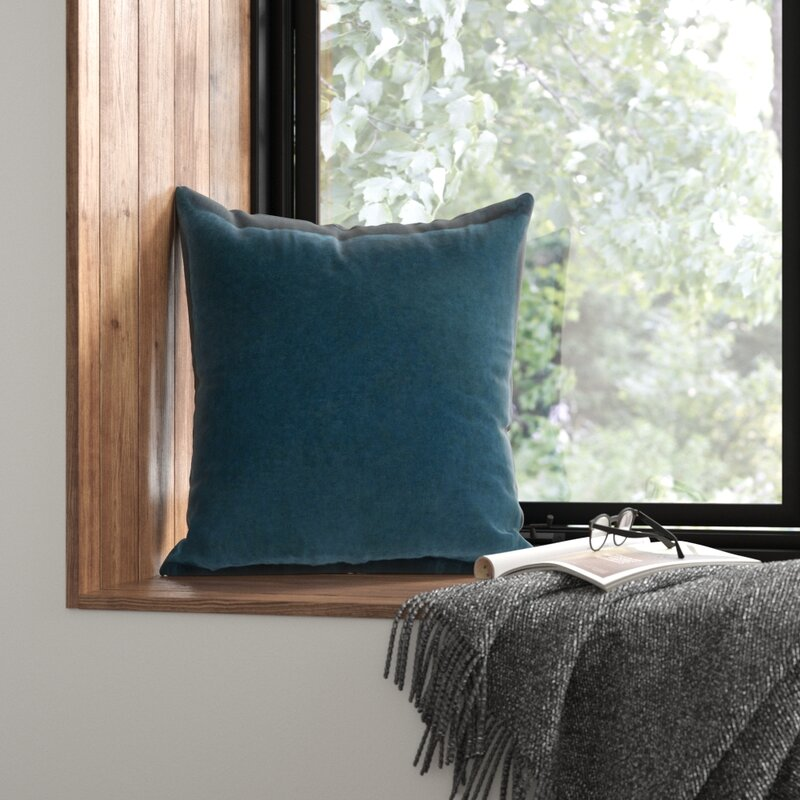 Square Cotton Pillow Cover Reviews Allmodern