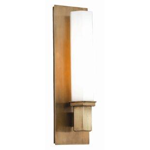 Best Gina 1-Light Wall Sconce By Orren Ellis