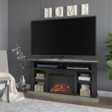 Georgie TV Stand for TVs up to 65 with Electric Fireplace Included by Darby Home Co