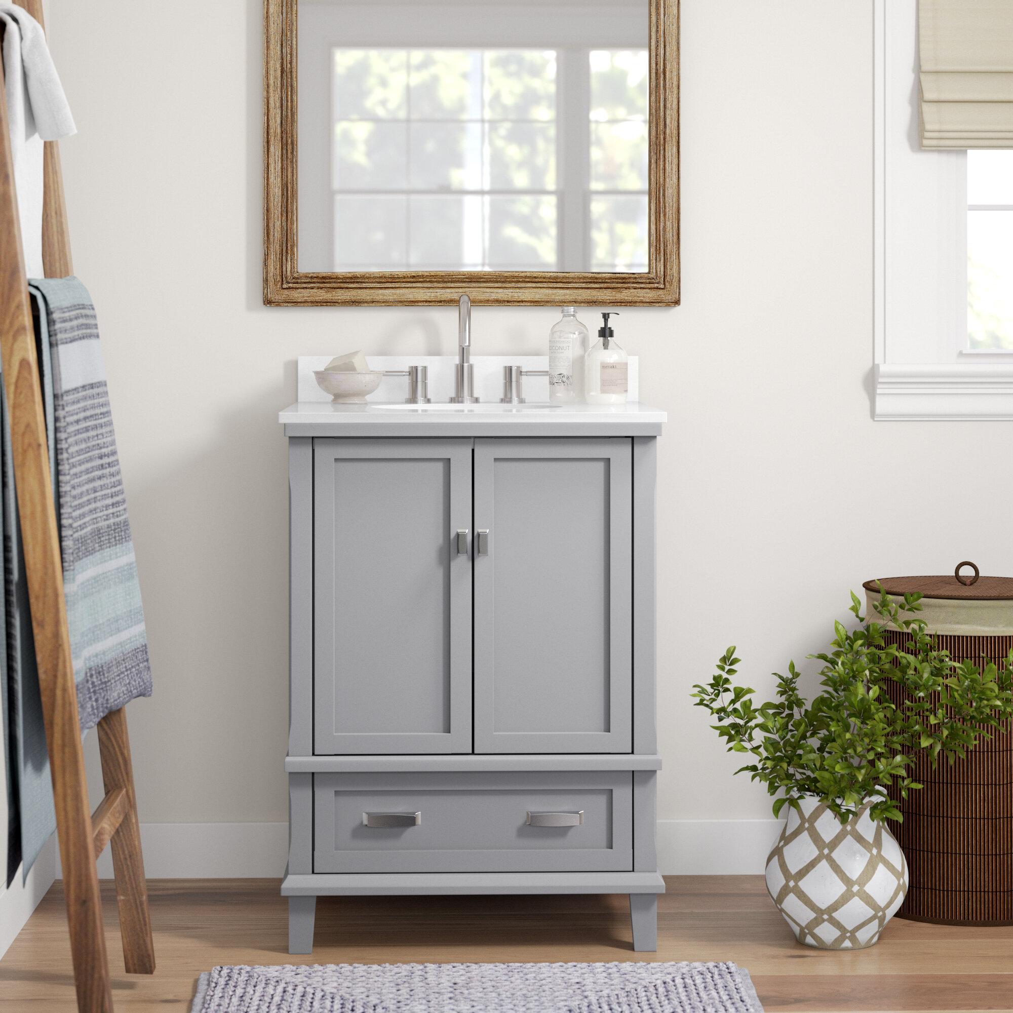 Joss Main Ka 24 Single Bathroom Vanity Set Reviews Wayfair