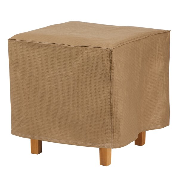 Wayfair Basics Square Patio Ottoman Or