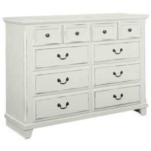 Alcott Hill Hanscom 10 Drawer Double Dresser