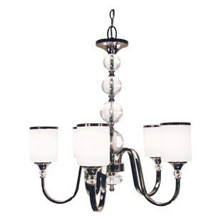Willa Arlo Interiors Carlitos 5-Light Shaded Chandelier