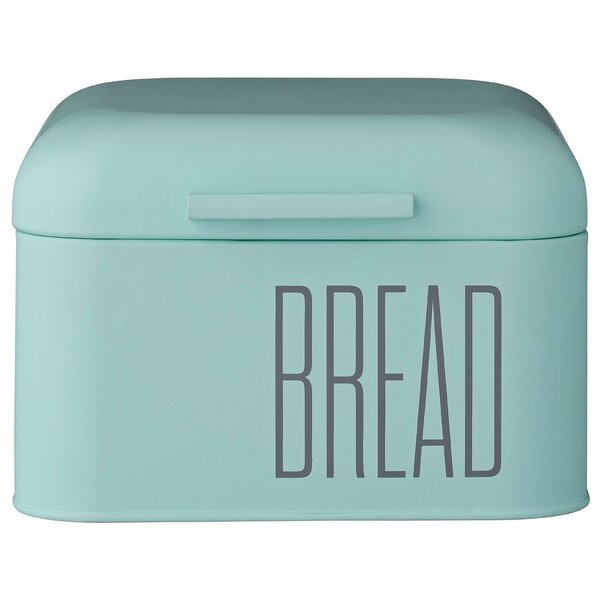 Turquoise Bread Box Extraordinary Teal Bread Box Wayfair