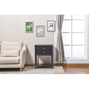 Charlton Home Robesonia End Table with Storage