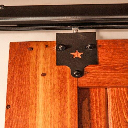 Harvard Products Heavy Duty Star Trolley Rolling Barn Door Hardware