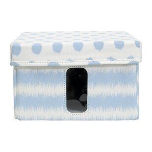 Affordable Storage Container with Window Fabric Box By Highland Dunes