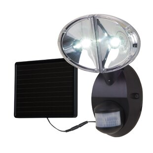 All-Pro Outdoor All-Pro LED, Solar Power, Outdoor Security Flood Light with Motion Sensor