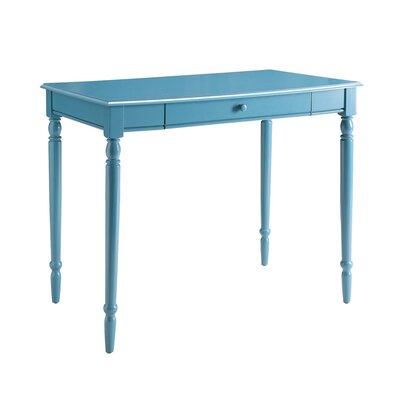 Ariella Solid Wood Desk Color: Blue by Andover Mills