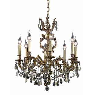 Astoria Grand Canary 8-Light Candle Style Chandelier
