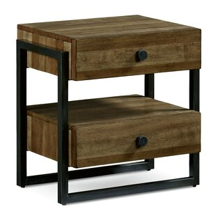 Carbaugh 2 Drawer Nightstand by Brayden Studio