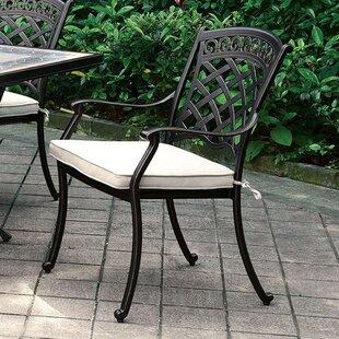 Fleur De Lis Living Dallas Transitional Metal Dining Chair