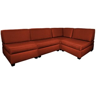 Grimmer Multi-Functional Reversible Modular Sectional with Ottoman