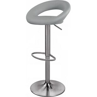 Seraphina Sorrento Height Adjustable Swivel Bar Stool by Riley Ave.