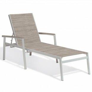 Latitude Run Laskowski Reclining Chaise Lounge (Set of 4)