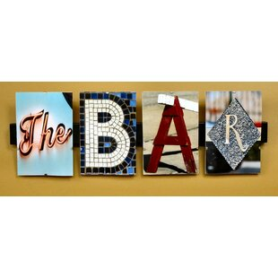 The Bar by Greg and Dilynn Puckett Textual Art By Language Art