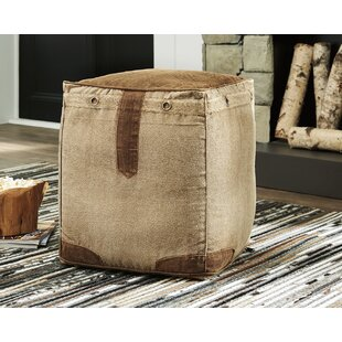 Wein Pouf Ottoman by Millwood Pines