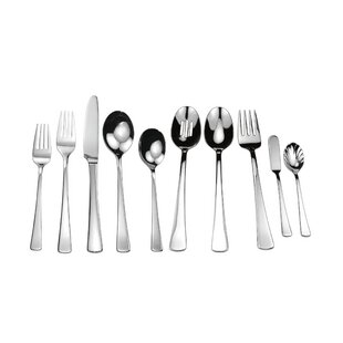 Splendide Rohan 45 Piece Flatware Set, Service for 8