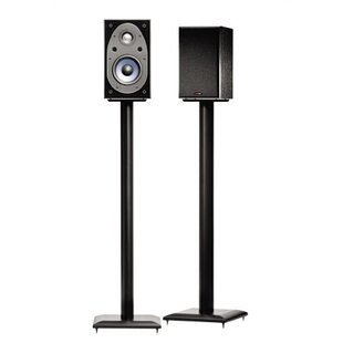 Black 36 Fixed Height Speaker Stands by Symple Stuff