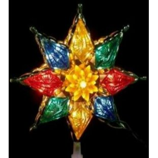 707f74861a9 Clear Crystal Star Christmas Tree Topper