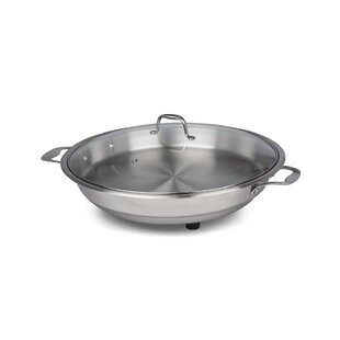 CucinaPro 16 Classic Electric Skillet with Lid