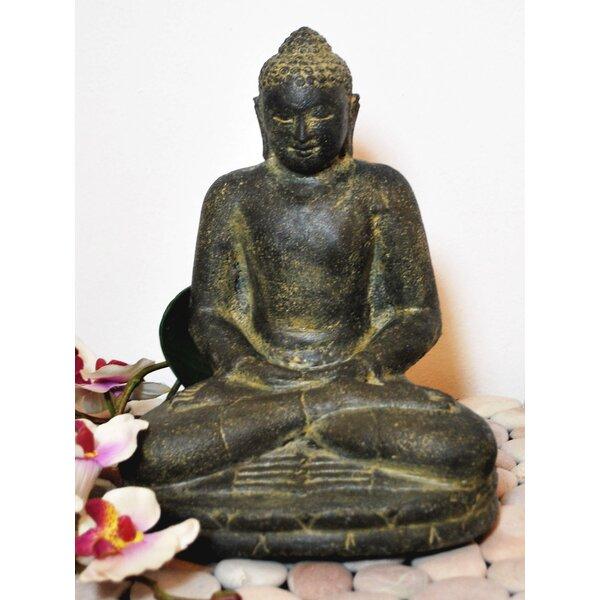 asiastyle sitzender indischer buddha. Black Bedroom Furniture Sets. Home Design Ideas