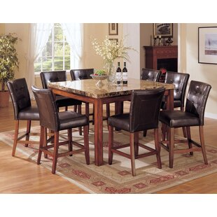Lovelady 9 Piece Pub Table Set Red Barrel Studio