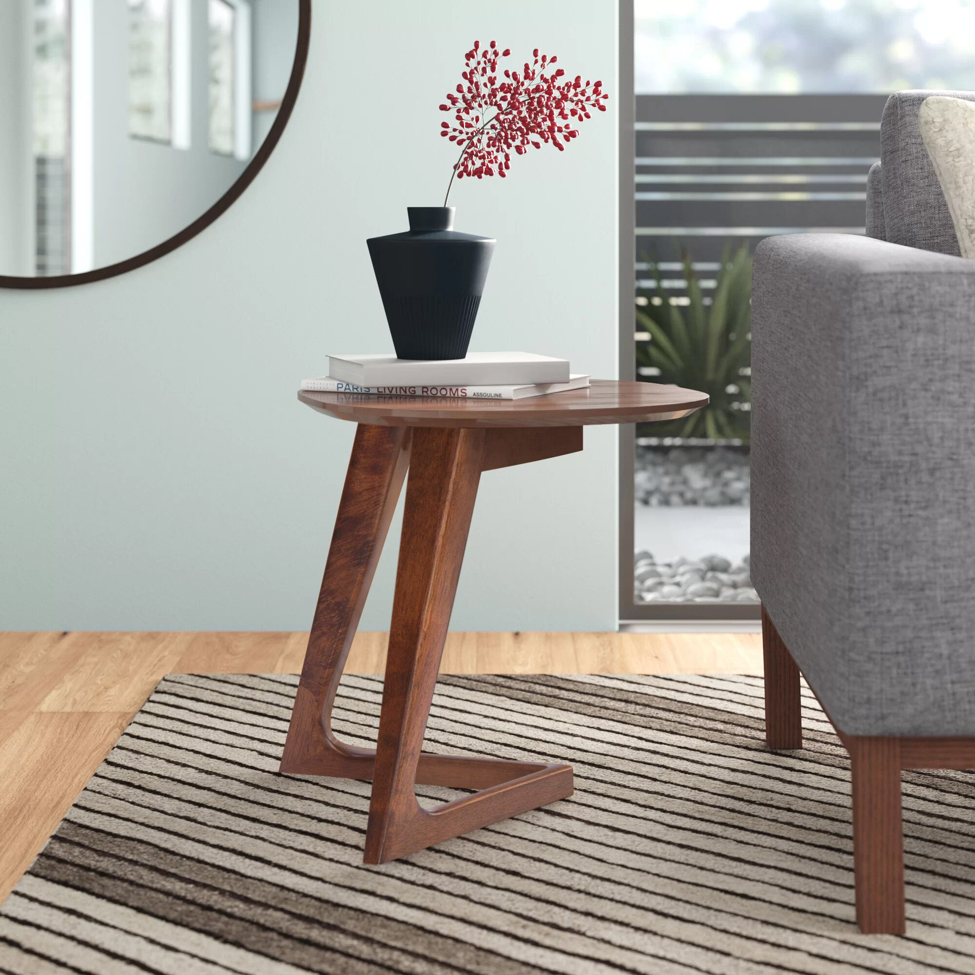 Cabell End Table Reviews Allmodern
