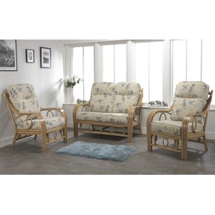 Bartow 3 Piece Sofa Set by Beachcrest Home