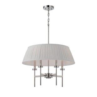 Ebern Designs Simich 4-Light Drum Chandel..