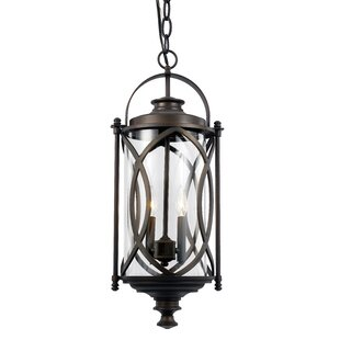 Affordable Ginsburg 2-Light Outdoor Hanging Lantern By Bungalow Rose