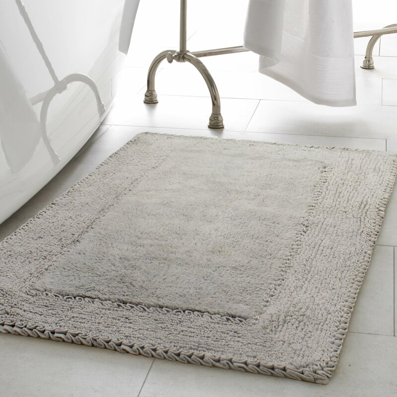 bathroom rug set. 2 Piece Ruffle Cotton Bath Rug Set Laura Ashley Home  Reviews