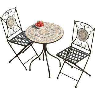 Cadmus 2 Seater Bistro Set By Marlow Home Co.