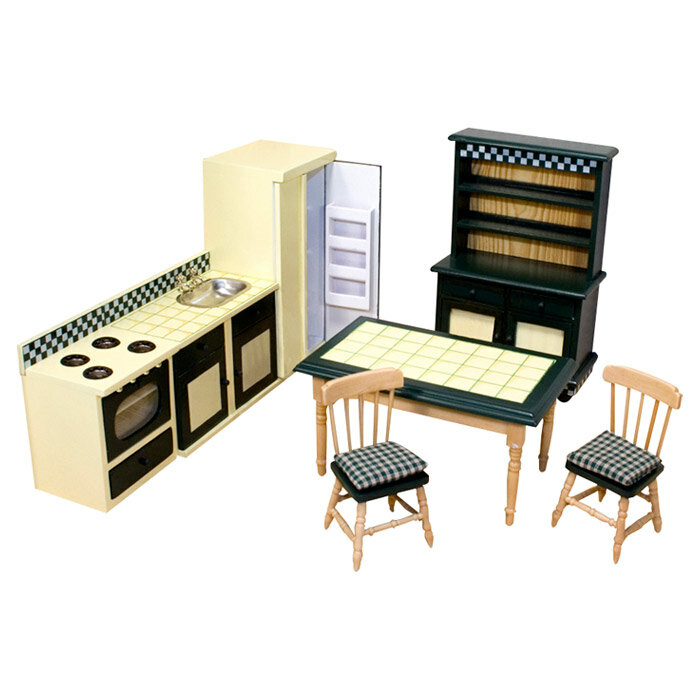 Melissa Doug Dollhouse Kitchen Furniture Reviews Wayfair