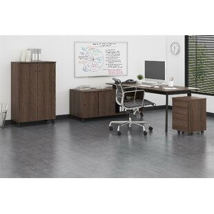 Holmes Desk 3 Piece Set by Comm Office Looking for