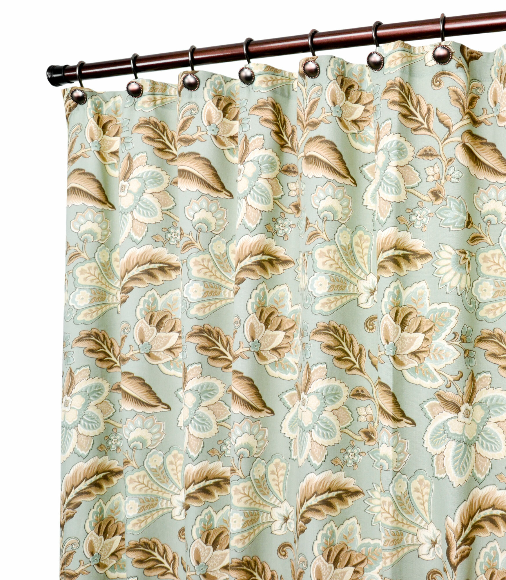 Charlton Home Fulton Jacobean Floral Print Shower Curtain Reviews