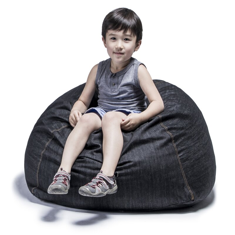 Denim Kids Club 2.5' Bean Bag Chair