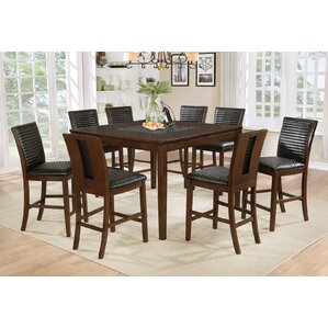 Luz 9 Piece Pub Table Set by Darby Home Co