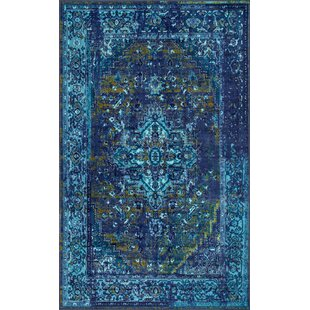 Compare & Buy Mcchesney Blue Area Rug By World Menagerie