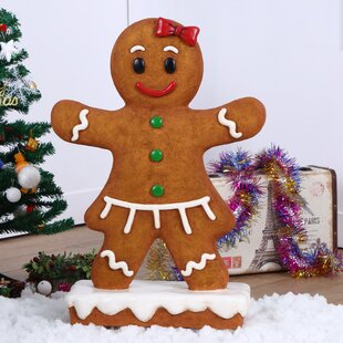gingerbread girl figurine