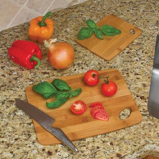 cutting board with food storage piece bamboo cutting board set boards youll love wayfair