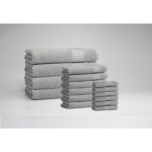 Selena 16 Piece Turkish Cotton Towel Set