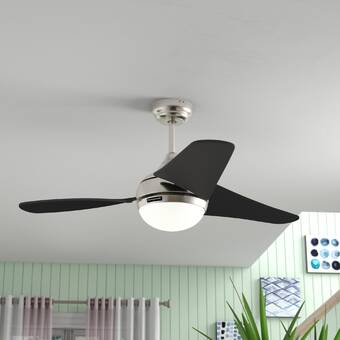 Hunter Fan 52 Builder Low Profile 5 Blade Flush Mount Ceiling Fan With Pull Chain And Light Kit Included Reviews Wayfair