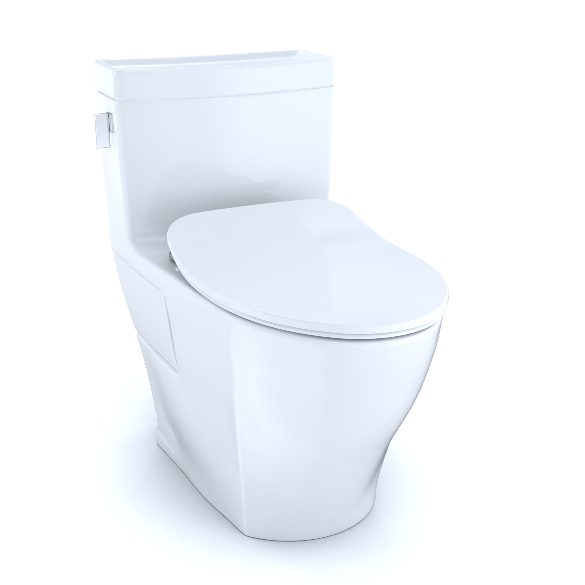 Toto Legato® 1.28 GPF (Water Efficient) Elongated One-Piece Toilet ...