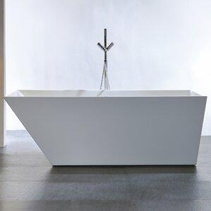 56 inch freestanding tub. 56 Inch Bathtub  Wayfair Awesome Contemporary Ideas internsi com