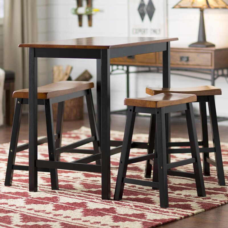 Superior Dining Set For 4 Part - 10: Rockchuck 4 Piece Dining Set