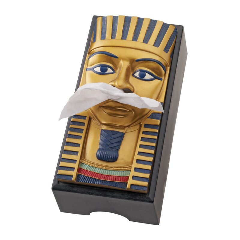 King Tut Tissue box Houder