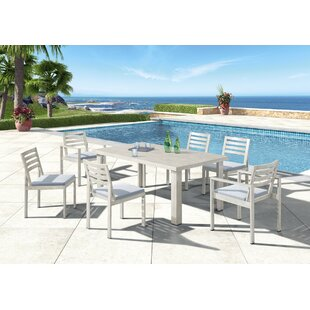 Red Barrel Studio Gough Outdoor 7 Piece Dining Set
