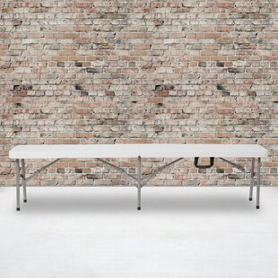 Kalish BiFold Carrying Handle Dining Bench by Symple Stuff